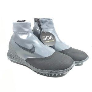Nike Lunar Vaporstorm Golf BOA Golf Shoes Gray 9.5